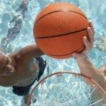 Portable Pool Basketball Hoops