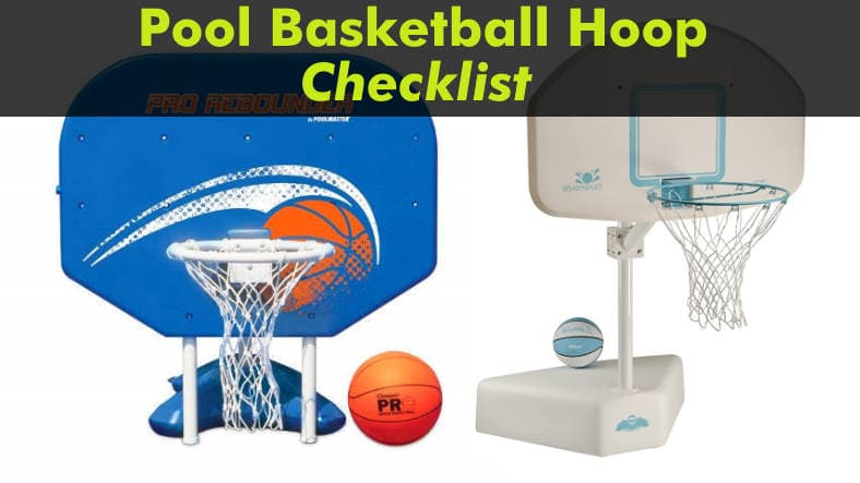 Checklist before you buy a pool basketball hoop featured image