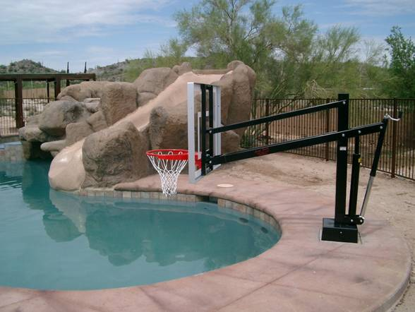 Hydroshot select pool basketball