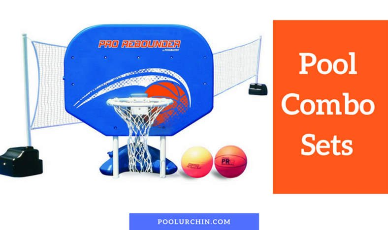 The best combo pool basketball and volleyball sets featured image