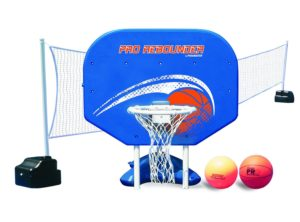 Pro Rebounder Volleyball Basketball Pool Game Set
