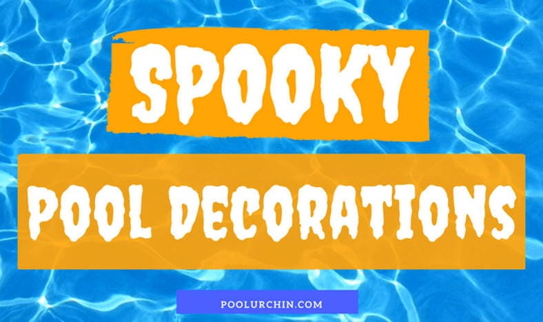 how to decorate pool for halloween featured image