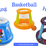 Inflatable Pool Basketball Hoops