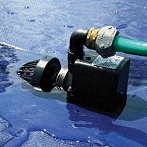 Above ground pool cover pump