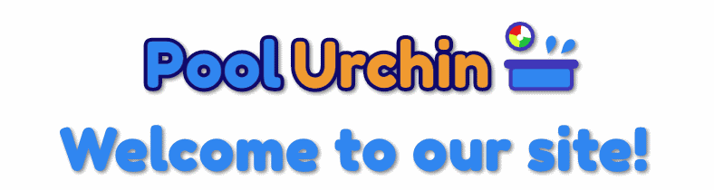 Pool Urchin About Us page welcome banner sign