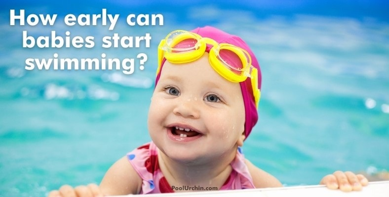 how early can babies start swimming