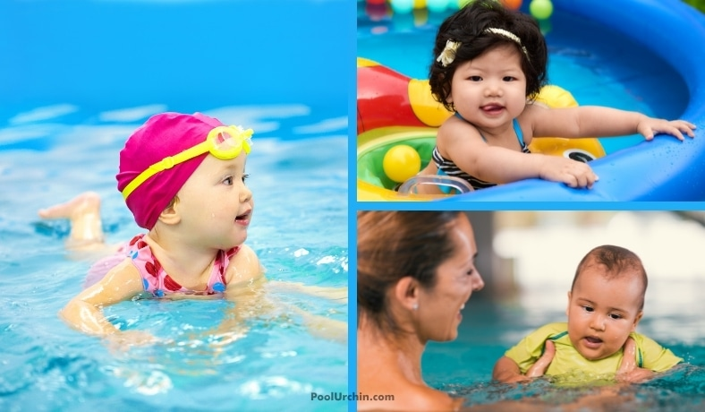how to dress a baby for the pool and swimming featured image