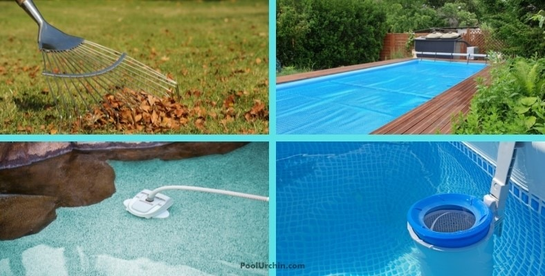 keeping your inflatable pool clean