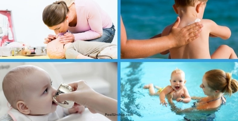 more safe baby swimming tips